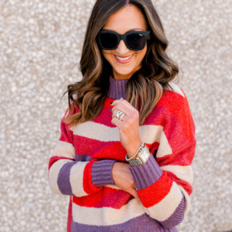 fall sweaters, fall outfit idea, thanksgiving outfit idea, style your senses, abstract sweater
