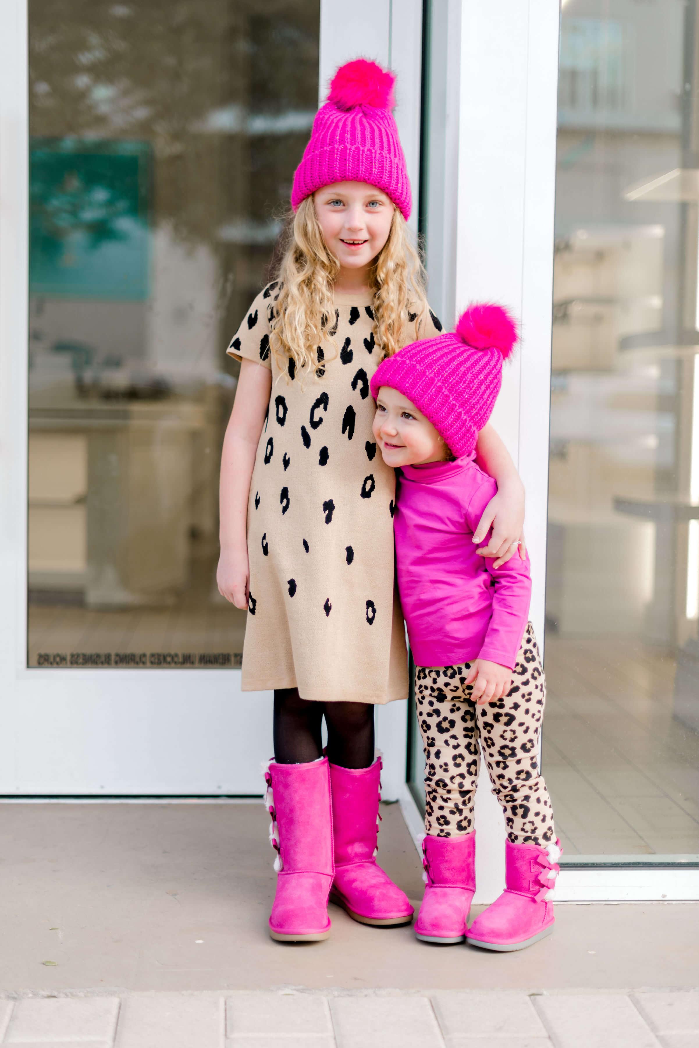 little girls kollaburra boots | little girls leopard dress
