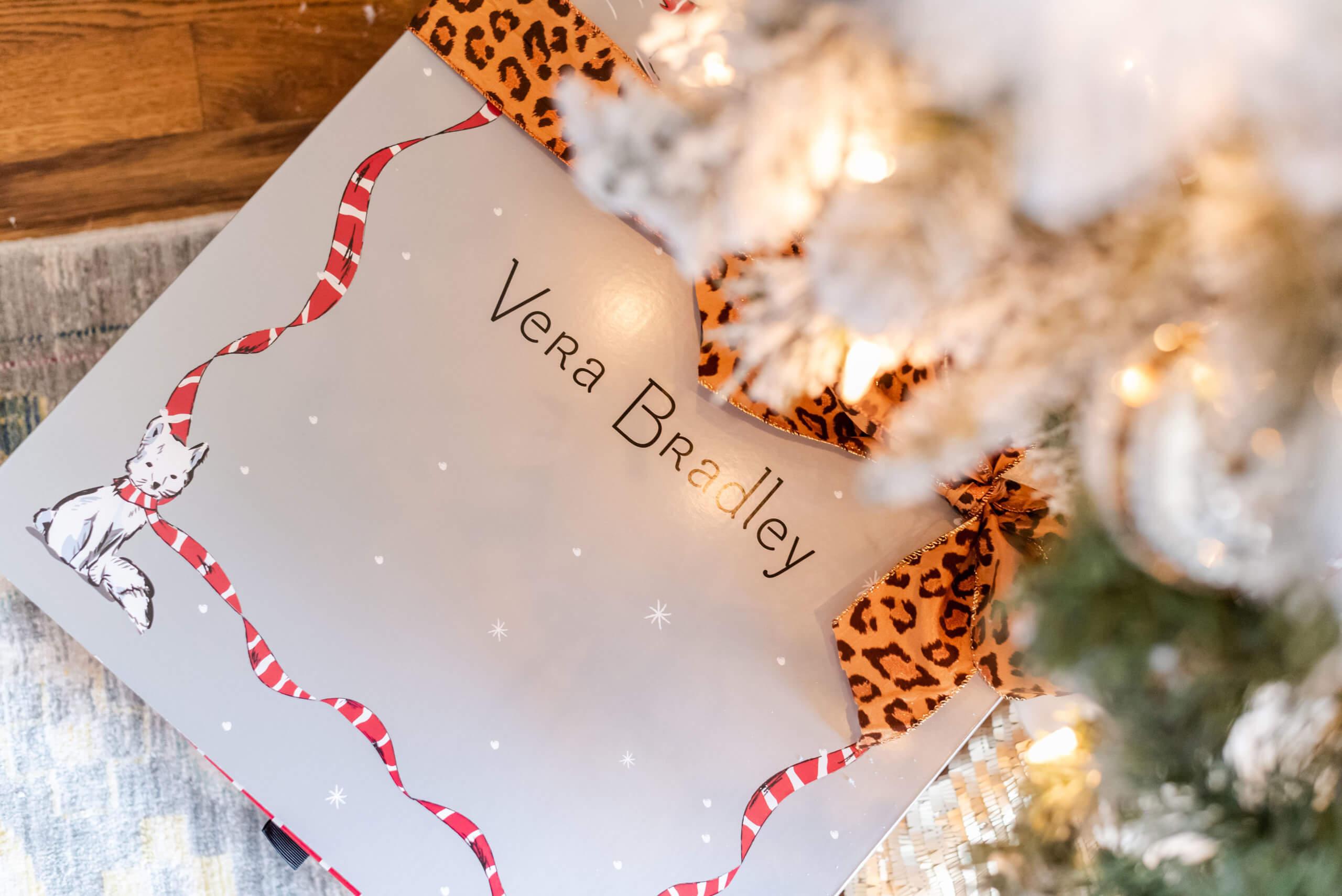 vera bradley holiday gift, vera bradley weekender bag, style your senses