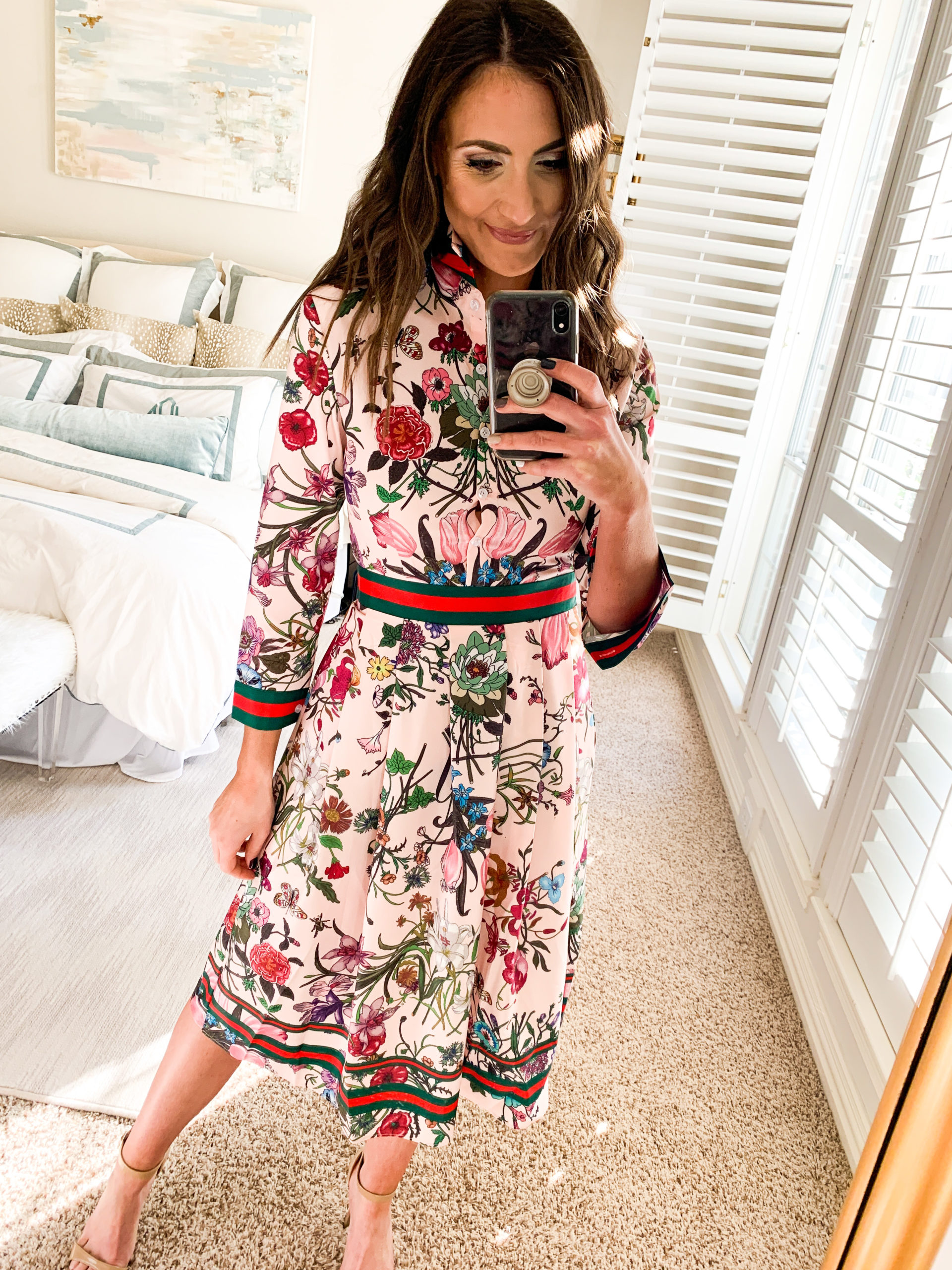 gucci dress, cocktail dress, amazon fashion haul, style your senses, mallory fitzsimmons