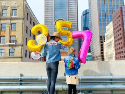 A Downtown Staycation + Birthday Celebration!