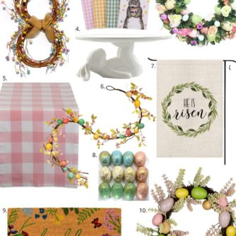 Easter Decor, Easter Decor on Amazon, Amazon Home Decor, Style your senses home decor