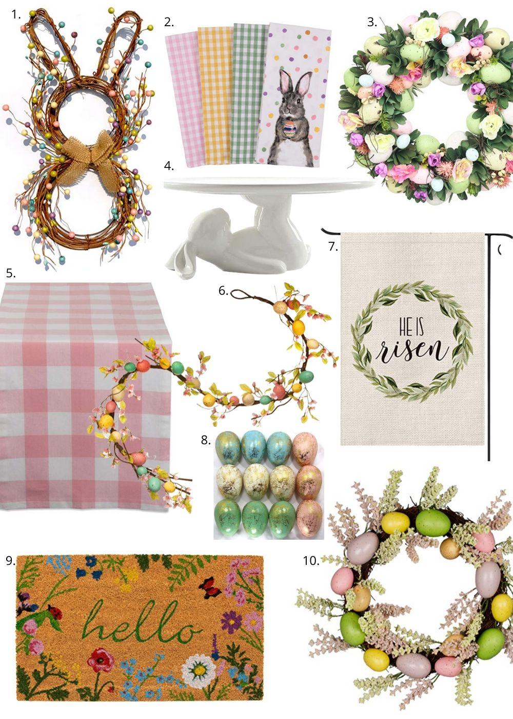 Easter Decor, Easter Decor on Amazon, Amazon Home Decor, Style your senses home decor