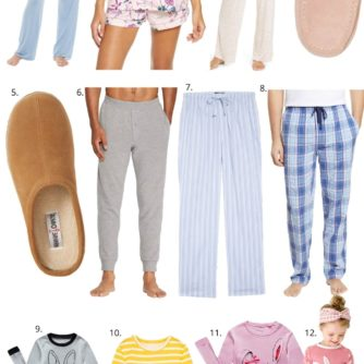 easter pajamas for the family, pajamas, loungewear, style your senses
