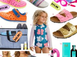 Zulily Summer, pool ready, swimwear, kids shoes, scout bag, zulily