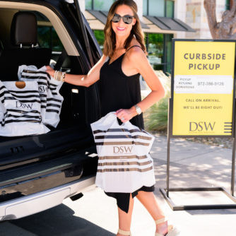 DSW curbside pickup, summer sandals, style your senses