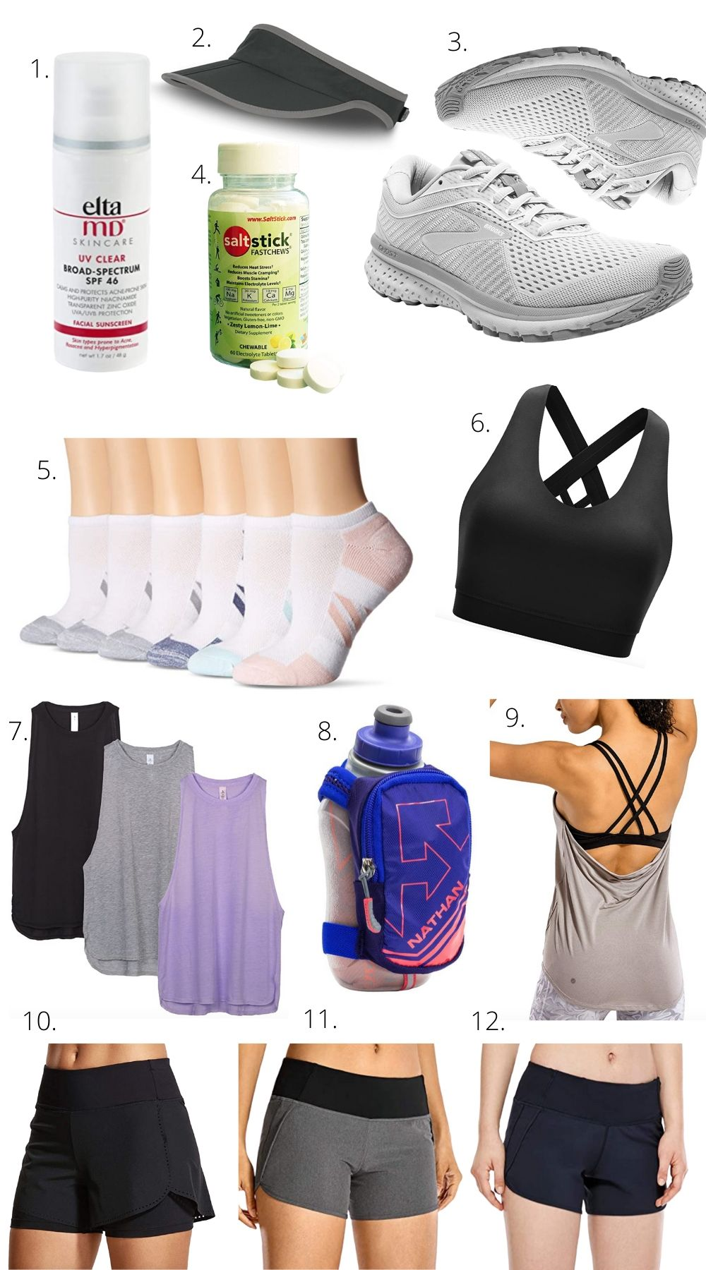 Amazon Running Essentials