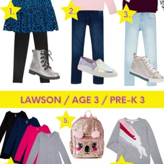 WALMART BACK TO SCHOOL, KIDS CLOTHING, STYLE YOUR SENSES