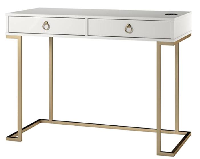 White Desks, Amazon Desks, Amazon Home, Style Your Senses