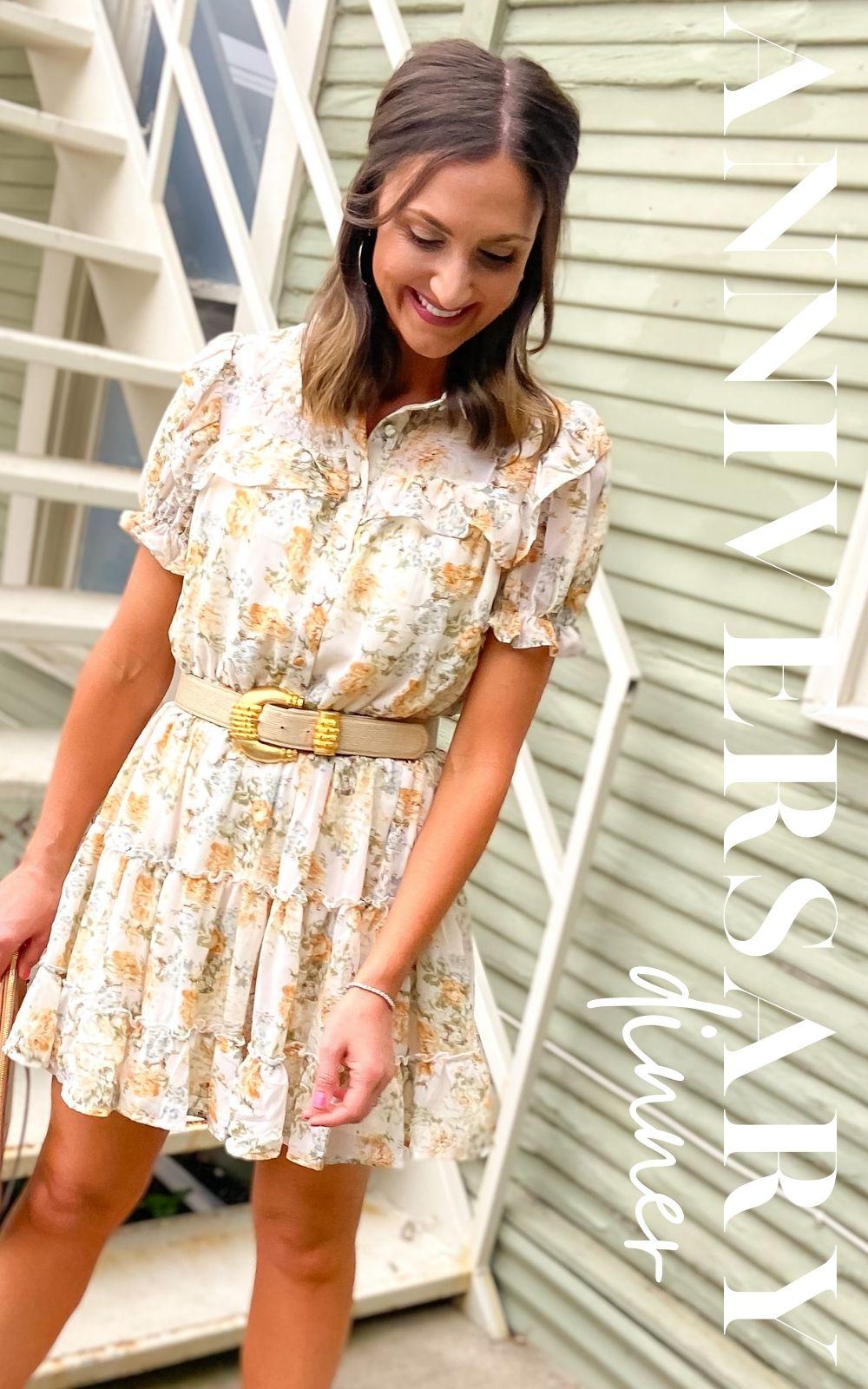 dress, floral dress, western dress, summer dress, shop style your senses