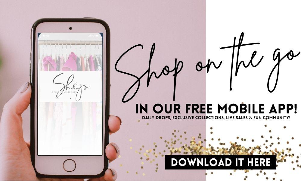 shop style your senses, mobile app, shopping app